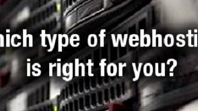 Which type of Web Hosting is right for you?