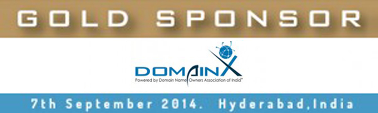 Sponsoring DomainX – World's 1st dedicated International Domain Name Conference