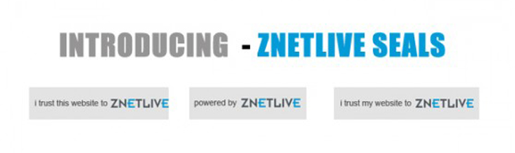 Introducing Premium ZNetLive Seals – Establish your website as credible & earn money