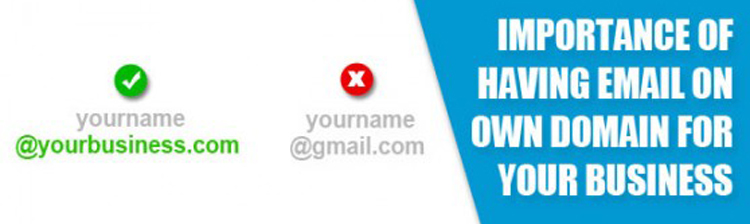 Why Email on Your Own Domain Name is Important for Your Business?