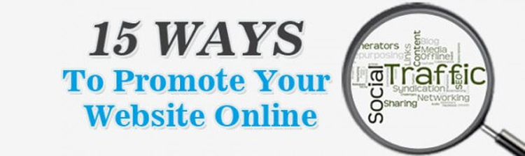 15 Best ways to Promote Your Website Online