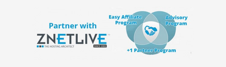 Associate with ZNetLive with the Right Partner Program