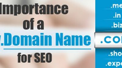 Importance of a Domain Name for SEO