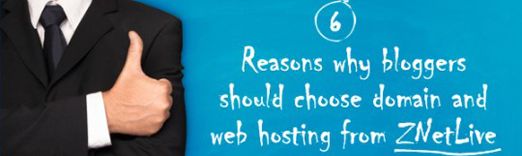 Why buy domain and web hosting from ZNetlive for your Blog?