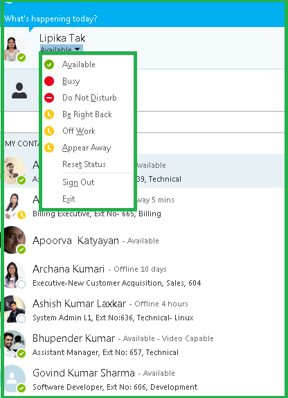 Skype for business-Office 365