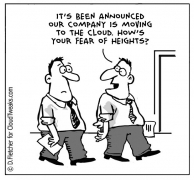 Cloud VPS cartoon image