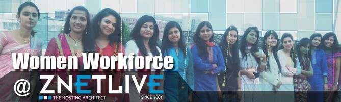 Women's day Special- Women Empowerment at ZNetLive