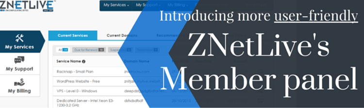 Revamping member panel for increased usability and navigational ease.