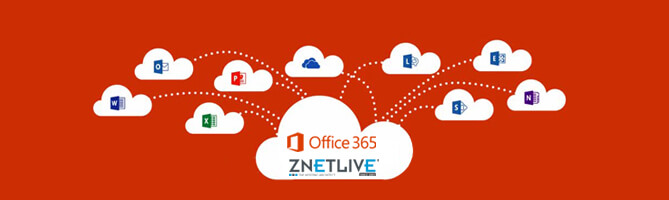 Why you should go for Office 365 with ZNetLive?