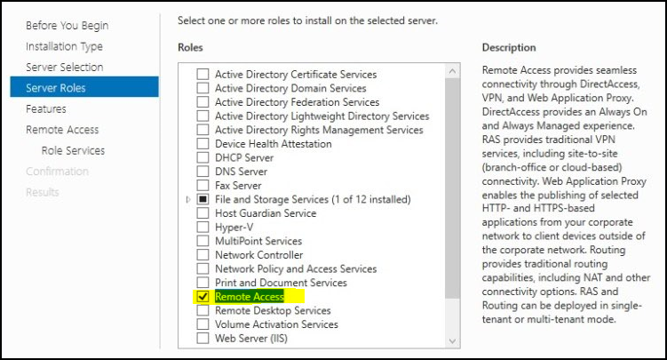 How to configure VPN on Windows Server 2019? 1