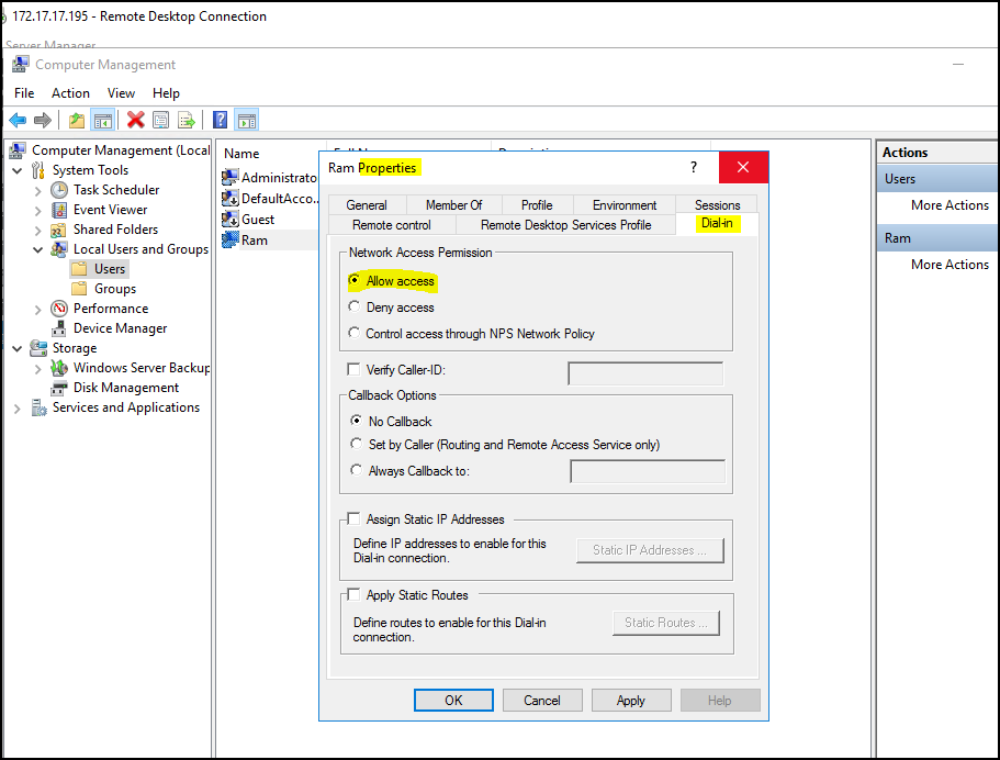 How to configure VPN on Windows Server 2019? 14