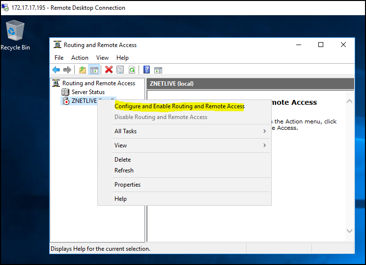How to Configure VPN on Windows Server 2019?