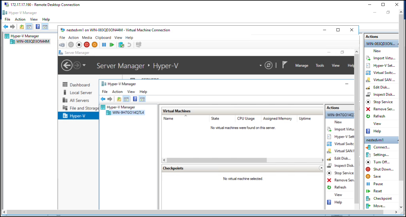 How to run Hyper-V in a Virtual Machine with Nested Virtualization? 7