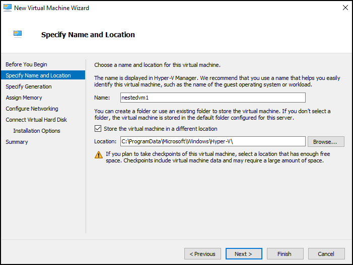 How to run Hyper-V in a Virtual Machine with Nested Virtualization? 1