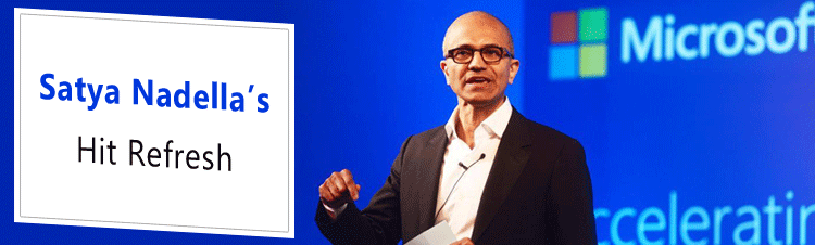 Leadership and Transformation lessons from Satya Nadella's Hit Refresh