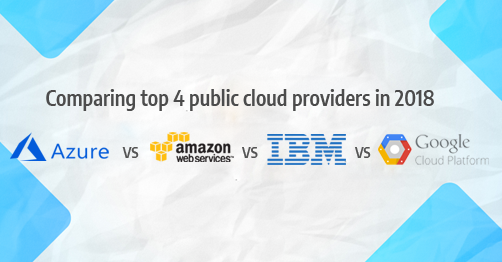2018 CSP Comparison - MS Azure vs AWS vs IBM vs Google