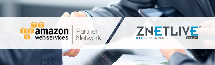 ZNetLive expands AWS relationship and becomes an AWS Channel Reseller Partner