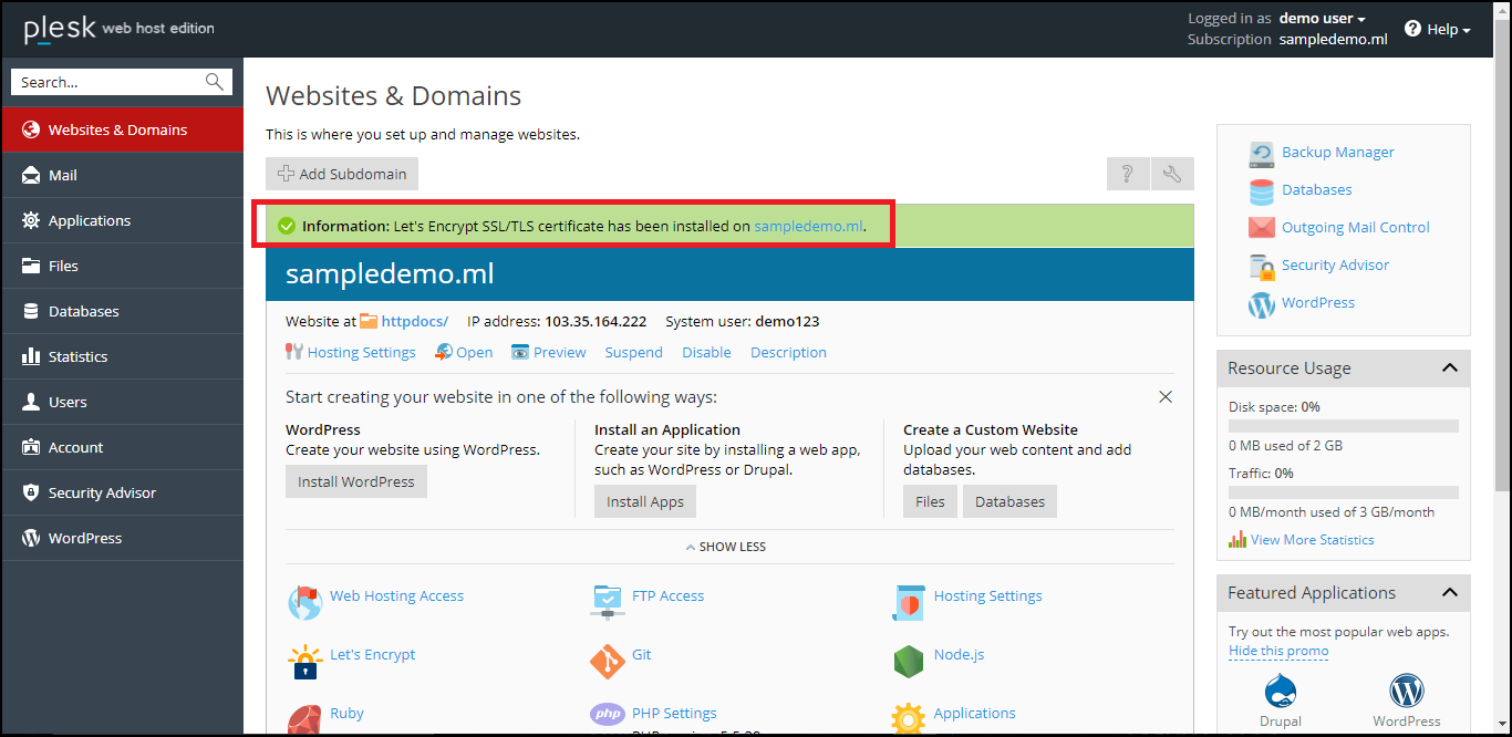 Install A Free Ssl Certificate On Your Wordpress Website With Cpanel