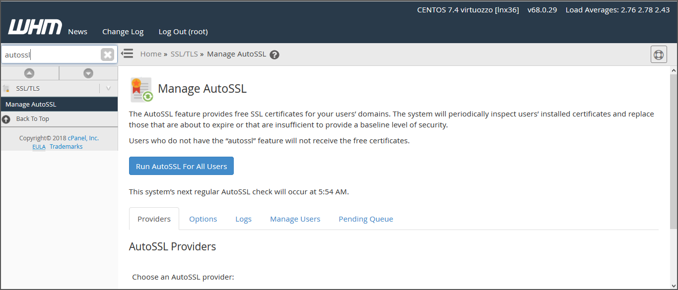 Install a free ssl certificate on your wordpress website with then go to manage auto ssl option 1betcityfo Images