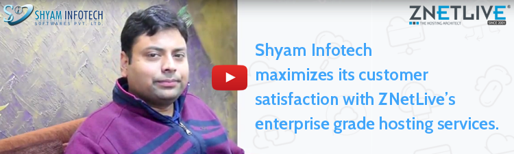 How Shyam Infotech maximized its customer satisfaction using enterprise grade hosting services?
