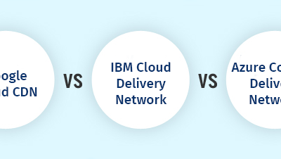 Comparing top 5 CDN services by Amazon, Google Cloud, Microsoft, IBM, and Alibaba Cloud