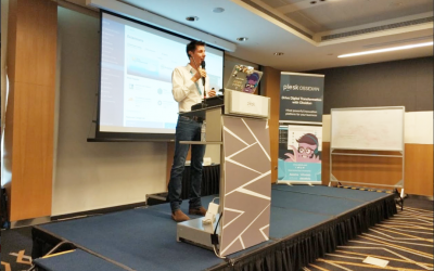 Team ZNetLive visits Plesk APAC Partner Day 2019 in Singapore