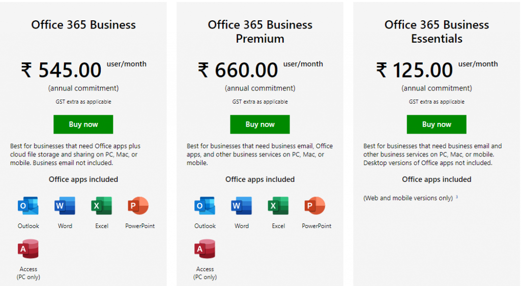 Office 365 Enterprise vs Business plans- A quick comparison in 2020 1
