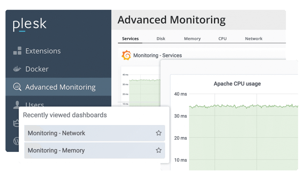 Plesk-Advance Monitoring
