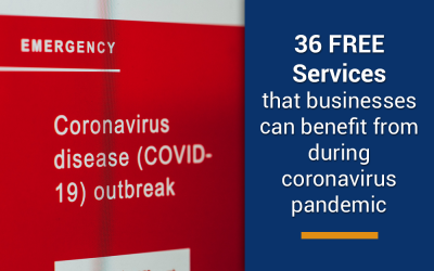 36 free services for coronavirus pandemic that can benefit businesses