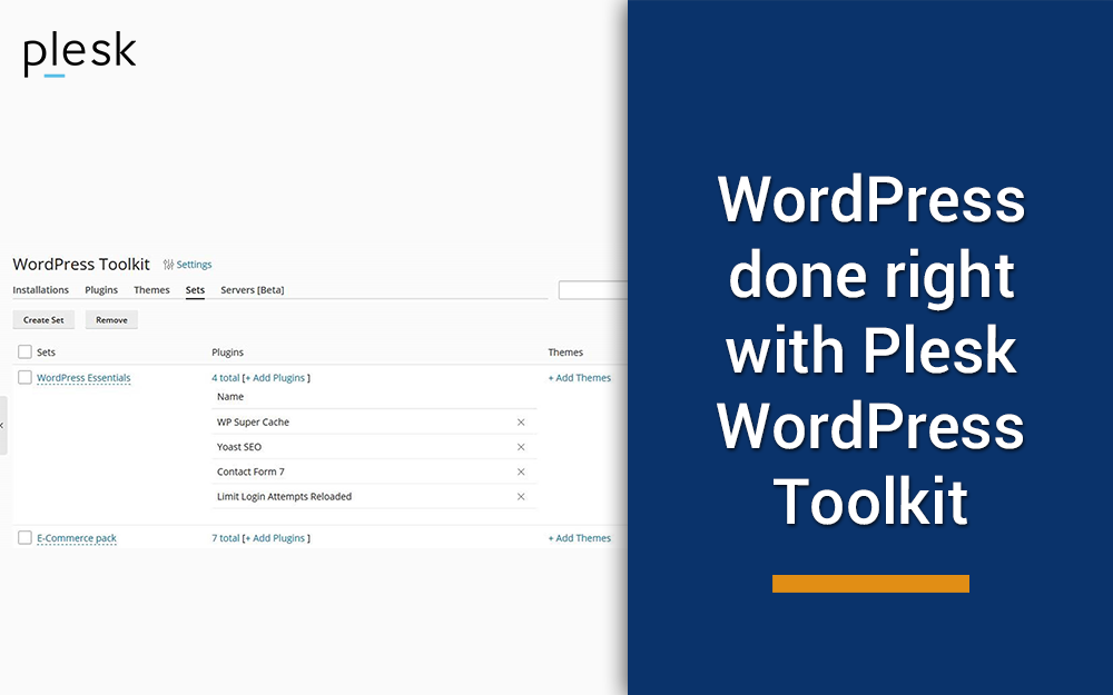 How WordPress is done right with Plesk WordPress Toolkit