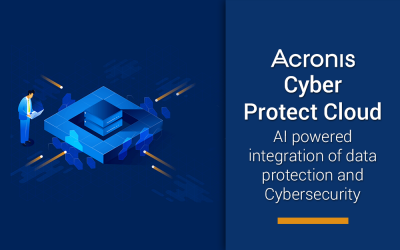 Acronis Cyber Protect Cloud – World's first complete cyber protection solution in the remote work era
