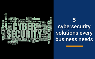 5 powerful cybersecurity solutions every business needs