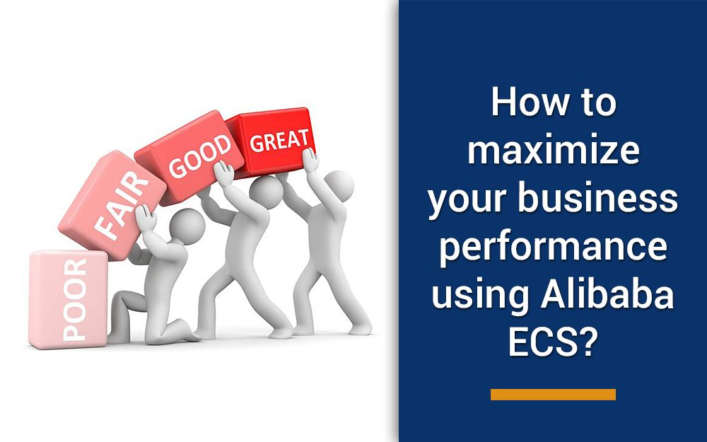 How can organizations improve performance and reduce costs with Alibaba Cloud ECS servers?