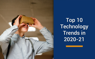 Top 10 technology trends in 2020-21 that are here to stay