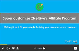 Super Customize ZNetLive's Easy Affiliate Program (PPT)